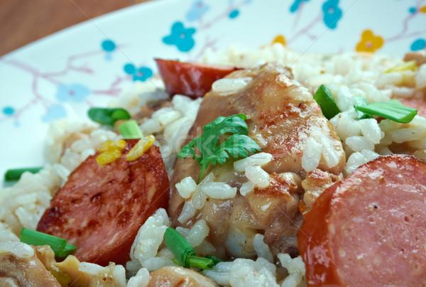 Chicken bog Stock photo © fanfo