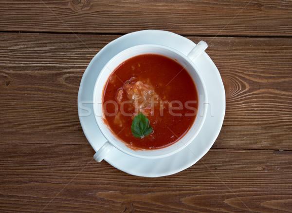 Fisherman's soup Stock photo © fanfo