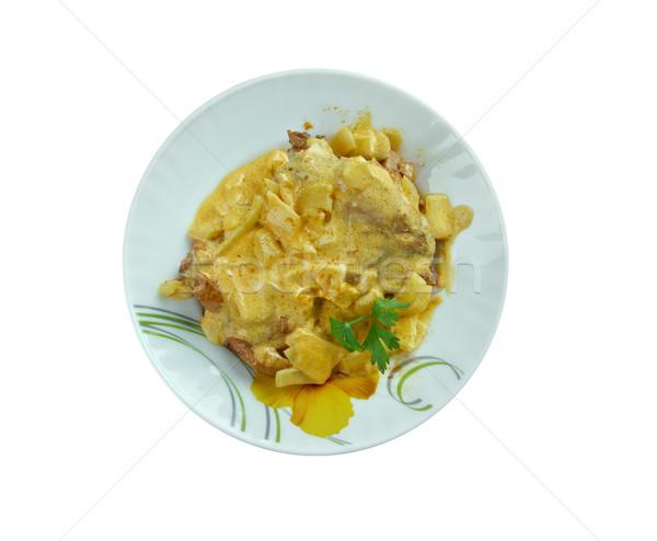 Chicken tikka  Stock photo © fanfo