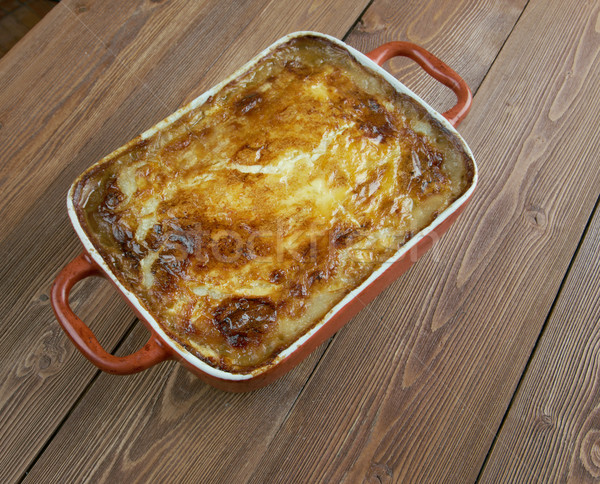 Taart traditioneel maaltijd zuidwest aardappel Stockfoto © fanfo
