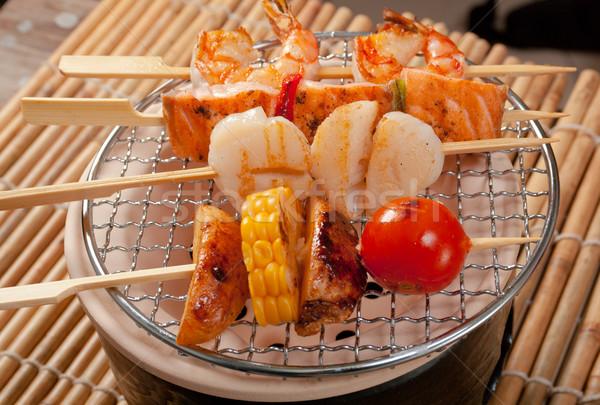 日本語 野菜 背景 レストラン プレゼンテーション アジア ストックフォト © fanfo