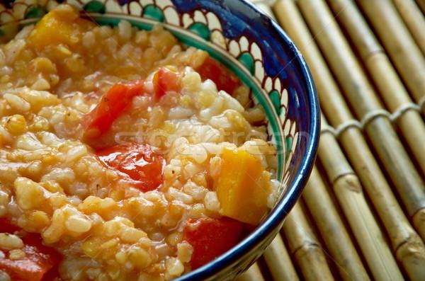 Lentil Pumpkin Soup Stock photo © fanfo