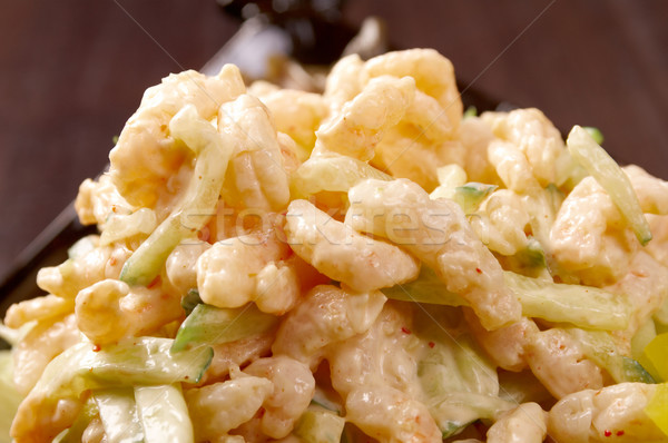 japanese salad with prawn  Stock photo © fanfo