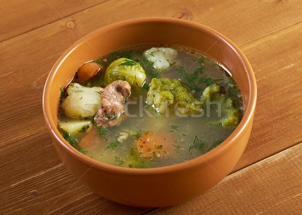 Olasz · leves · brokkoli · vidék · zöldségek · étel ...