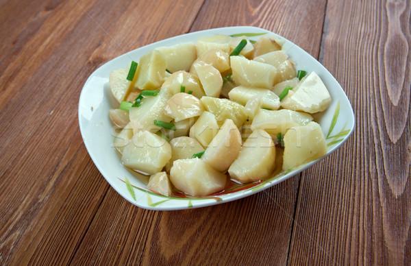Swabian potato salad Stock photo © fanfo