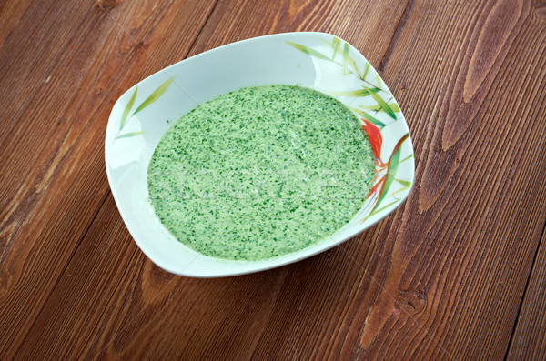 Peruvian Aji Verde Sauce Stock photo © fanfo
