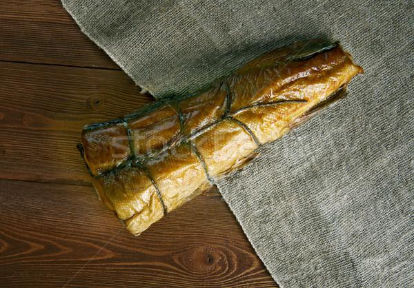 Schotland vis type gerookt zee huid Stockfoto © fanfo