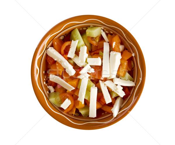 Shopska salad Stock photo © fanfo
