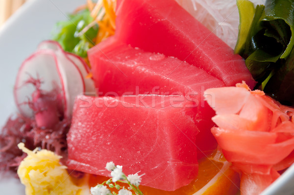 tuna with vegetables  Stock photo © fanfo