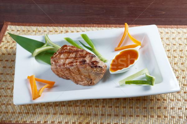 Japanese Kobe beef  Roast Stock photo © fanfo