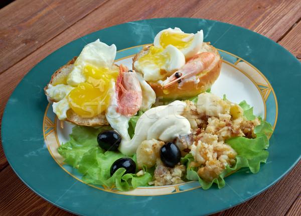 Eggs Neptune Stock photo © fanfo