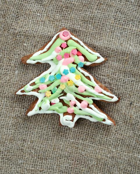 kozuli - Russian Christmas gingerbread Stock photo © fanfo