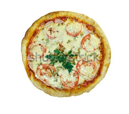 Fast food Pizza.Natural form foods.   Stock photo © fanfo