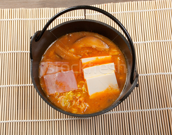 japanese soup Stock photo © fanfo