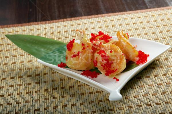 prawn potato chips chinese Stock photo © fanfo