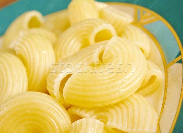 ストックフォト: イタリア語 · パスタ · パイプ · ディナー · 食事 · ダイエット