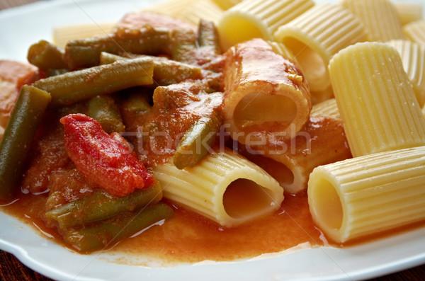 Pasta Rigatoni Stock photo © fanfo