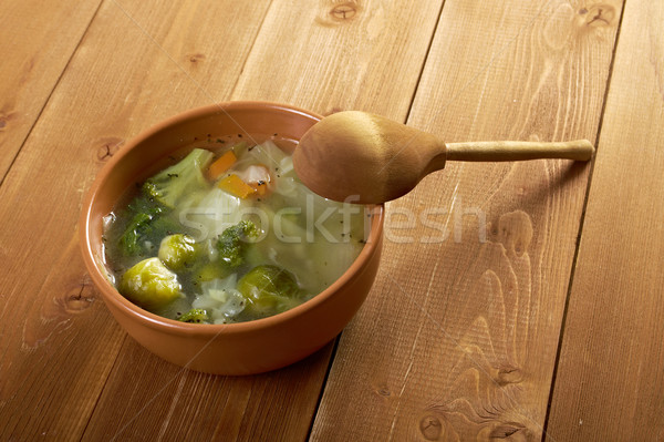 italian farm-style soup Stock photo © fanfo
