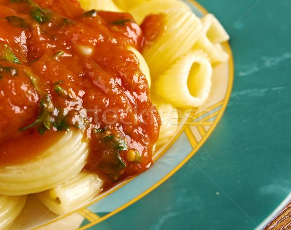 italian pasta pipe rigate Stock photo © fanfo