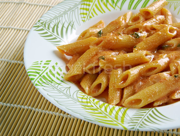 Penne ai peperoni Stock photo © fanfo