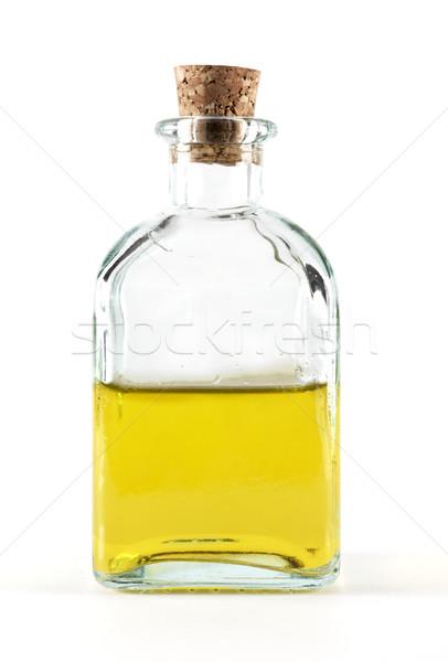 Yağ şişe zeytinyağı meyve cam zeytin Stok fotoğraf © farres