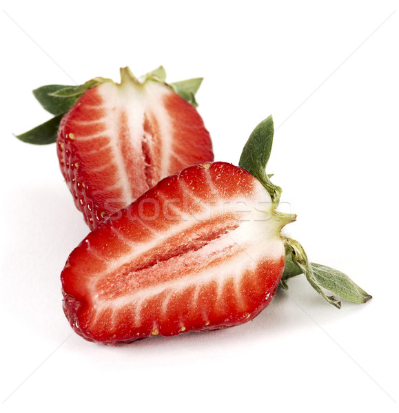 Strawberry half Stock photo © farres