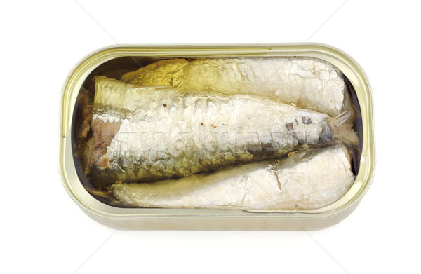 Canned sardines Stock photo © farres
