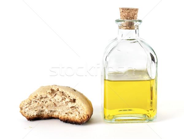 Bread and oil Stock photo © farres