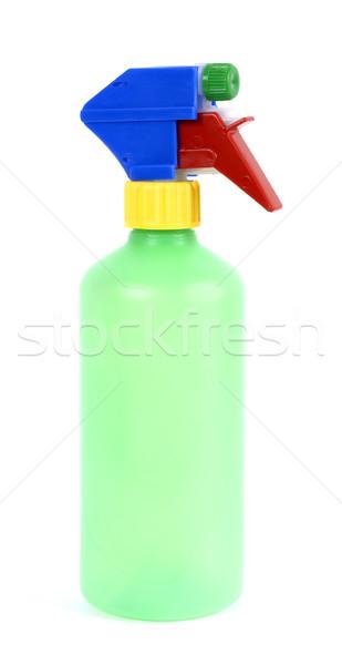 Sprey şişe boş plastik tip ev Stok fotoğraf © farres