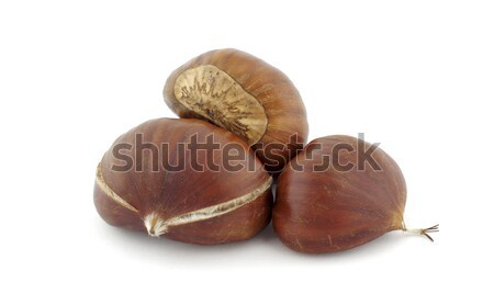 Three chestnuts Stock photo © farres