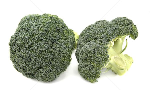 Brokoli yan çiçekler sağlık yeşil Stok fotoğraf © farres