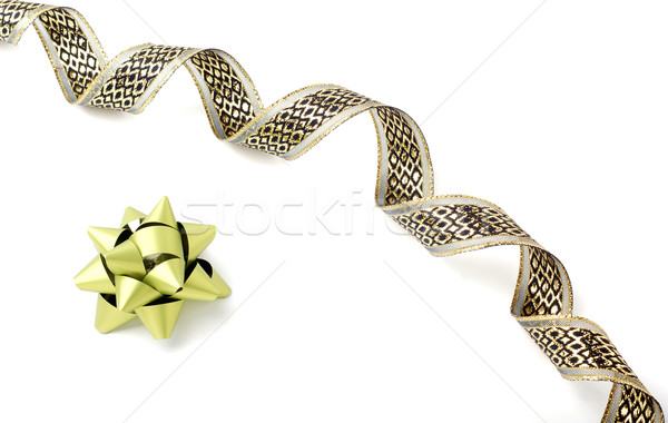 Golden ribbon Stock photo © farres