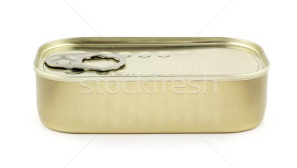 Tin of sardines Stock photo © farres