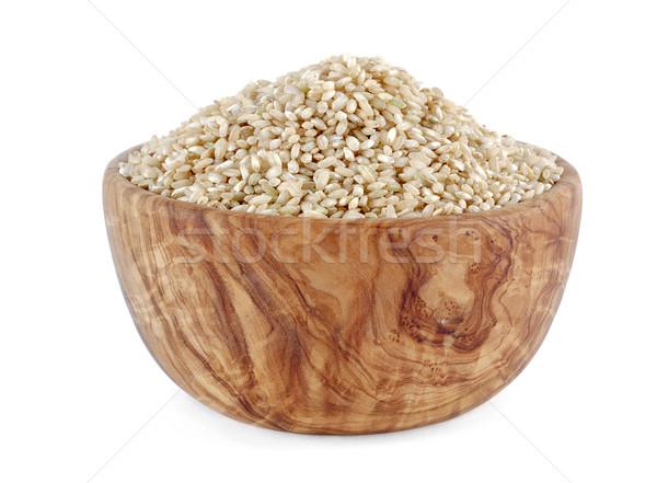 Bowl of rice Stock photo © farres