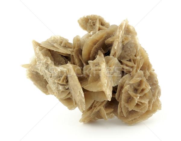 Désert rose sable élevé cristal macro Photo stock © farres