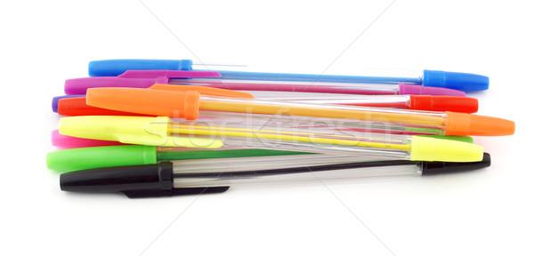 Pens stack Stock photo © farres