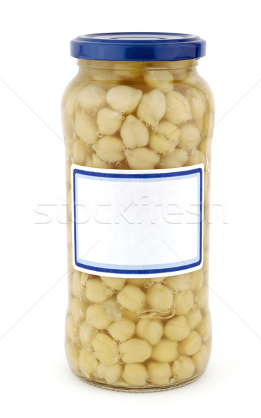 Chickpeas pot Stock photo © farres