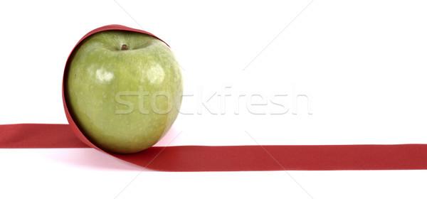 Apple ribbon Stock photo © farres