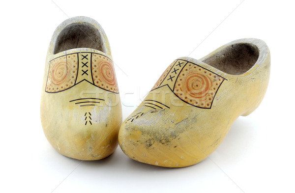 Wooden Clogs Stock photo © farres