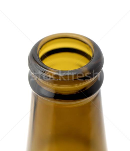 Cou bouteille bière blanche Photo stock © farres