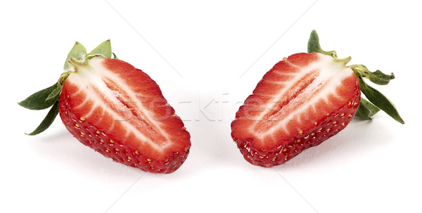 Strawberry cut Stock photo © farres