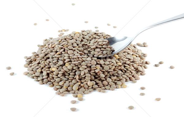 Spoon lentils Stock photo © farres