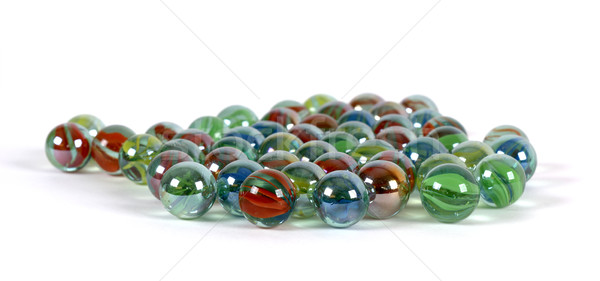 Glass marbles Stock photo © farres