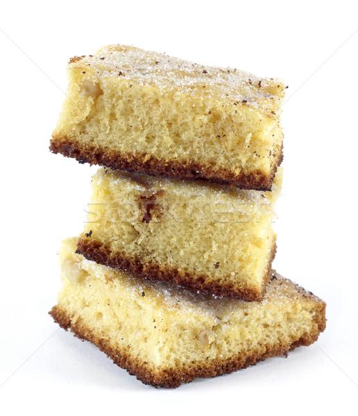 Kekler üç parçalar lezzetli kek Stok fotoğraf © farres