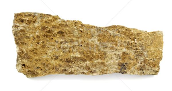 Altın taş parça doku doğa kaya Stok fotoğraf © farres