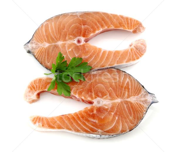 Salmon duo Stock photo © farres