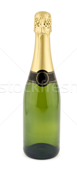 Bouteille champagne isolé blanche alcool célébration Photo stock © farres