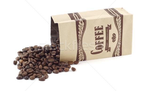 Bag of coffee Stock photo © farres