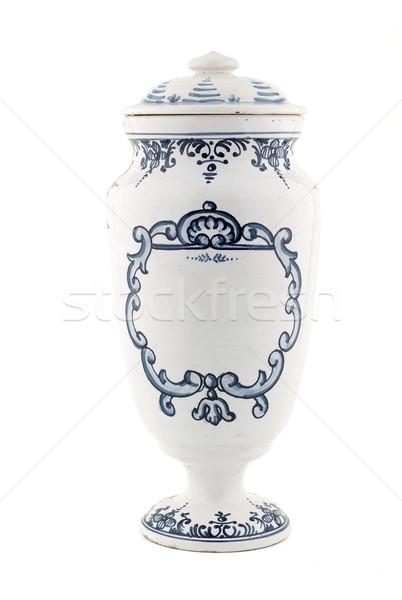 Seramik çanak uzay beyaz Stok fotoğraf © farres