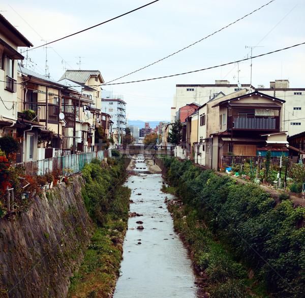 Köy kyoto küçük 2012 yaz zaman Stok fotoğraf © fatalsweets